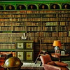 The Library  Belton house Lincs